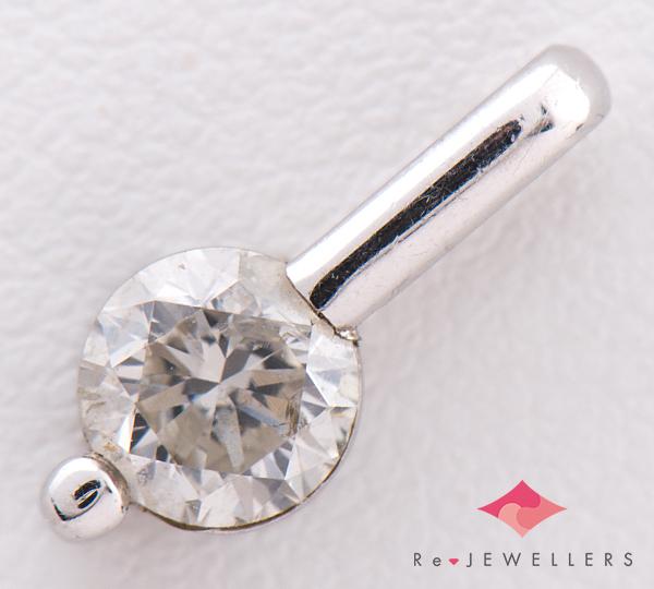 [写真]ダイヤモンド0.61ct プラチナ900 ペンダント【買取相場】