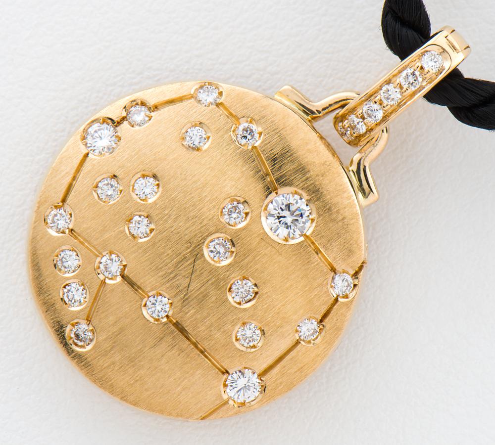 [写真]レポシ アストラム ダイヤモンド チョーカー 18金イエローゴールド【買取相場】