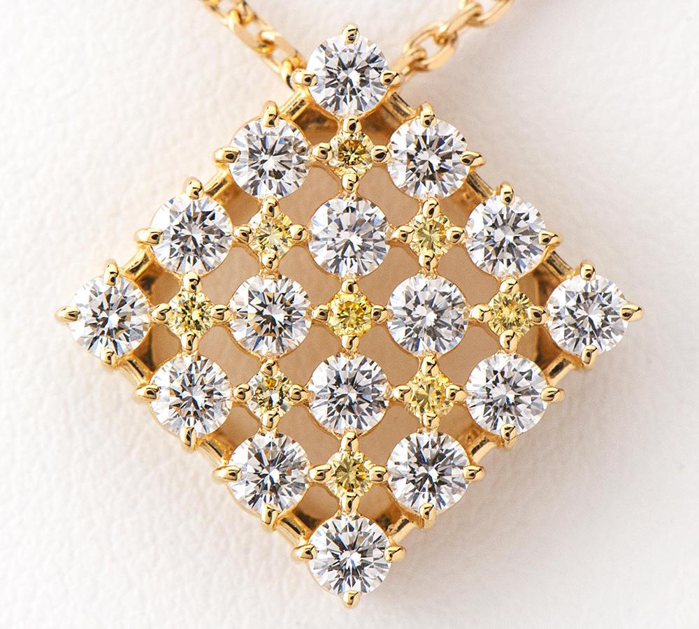 [写真]田崎真珠 ダイヤモンド計1.45ct 18金 ネックレス【買取相場】