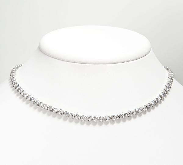 [写真]ダイヤモンド計12.04ct プラチナ900 ネックレス【買取相場】
