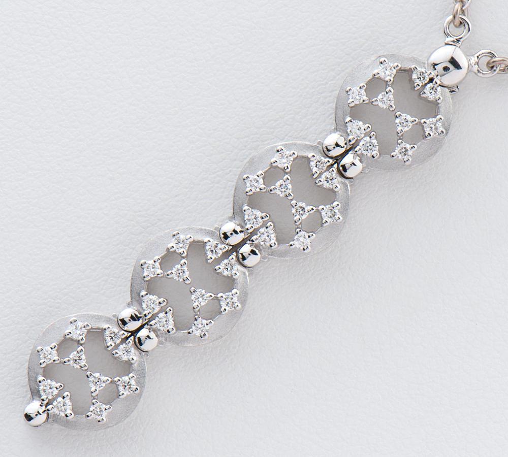 [写真]田崎真珠 2Way ダイヤモンド計0.40ct 18金ホワイトゴールド ネックレス【買取相場】