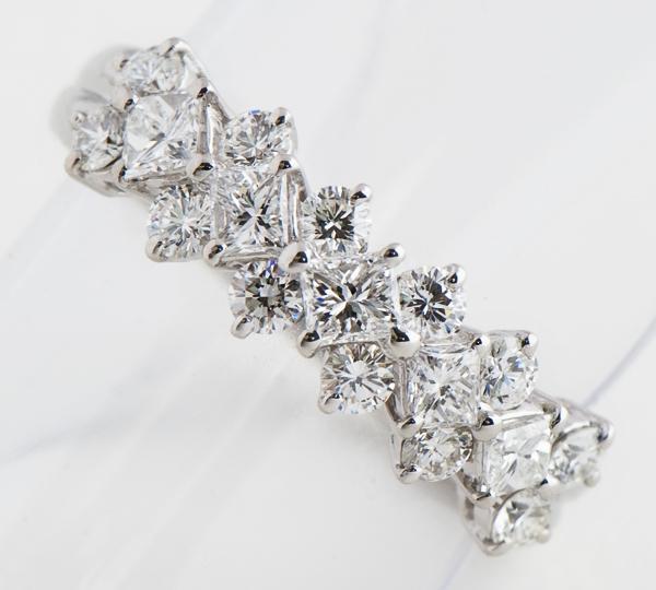 [写真]ダイヤモンド計1.06ct プラチナ900 リング【買取相場】