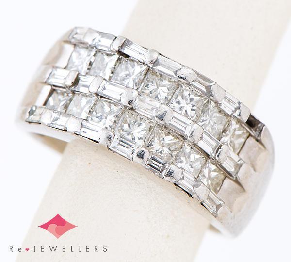 [写真]ダイヤモンド計2.02ct プラチナ900 リング・指輪【買取相場】